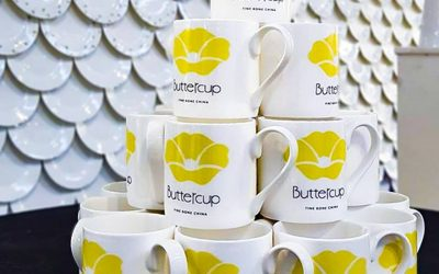 Buttercup China Offers Bespoke Bone China Ware Service to Global Clients